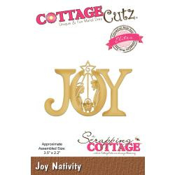 "086096 CottageCutz Elites Dies Joy Nativity 3.5""X2.2"""