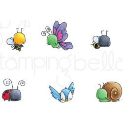 265880 Stamping Bella Cling Stamps Little Bits Critters