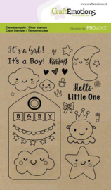 130501/2502 CraftEmotions clearstamps A6 Baby Provoke