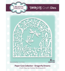 CEDPC1036 The Paper Cuts Collection Dragonfly Dreams