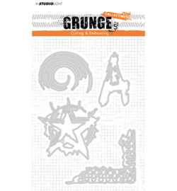 STENCILSL151 Cutting and Embossing Die Grunge Collection nr.151