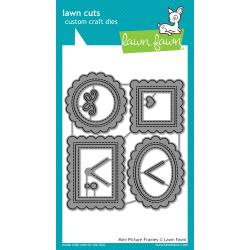 LF1623 Lawn Cuts Custom Craft Die Mini Picture Frames