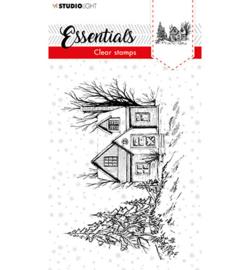 SL-ES-STAMP90 - SL Clear stamp Christmas Senery Essentials nr.90