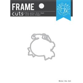 663203 Hero Arts Frame Cut Dies Color Layering Pumpkin