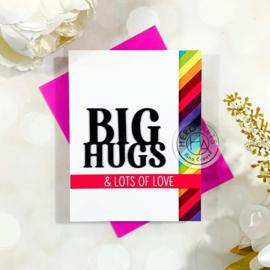 649364 Hero Arts Stamp & Cut Big Hugs