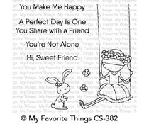 CS-382 My Favorite Things Sweet Friends Clear Stamps