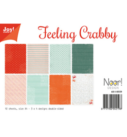 6011/0559 Papier Set Design Feeling Crabby A4