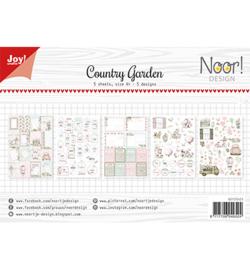 6011/0421 Labelvellen/knipvel Noor Country Garden