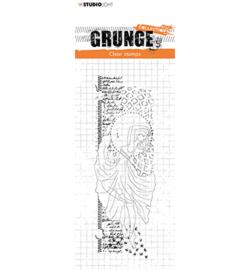 SL-GR-STAMP34 StudioLight Clear Stamp Ballerina Grunge Collection nr.34