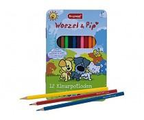 7524MWP Bruynzeel Woezel & Pip 12 Kleurpotloden