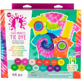 656754 Tulip Two-Minute Tie Dye Color Kit Extra Large 14/Pkg