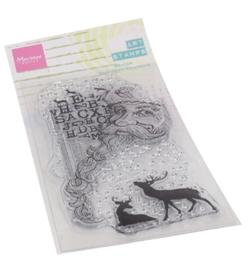 MM1635 Marianne Design Art stamps Santa