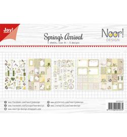 6011/0427 Noor knipvel Spring's Arrival