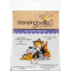 447049 Stamping Bella Cling Stamps Tiny Townie Courtney Loves Kitties