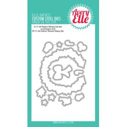 106339 Elle-Ments Dies Festive Wreath