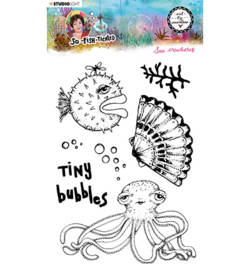 ABM-SFT-STAMP13 StudioLight ABM Clear Stamp Sea creatures So-Fish-Ticated nr.13