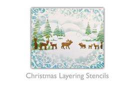 PD8097 Polkadoodles Deer Layering Stencil