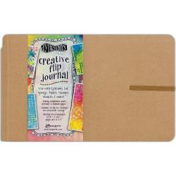 "466650 Dyan Reaveley's Dylusions Creative Flip Journal Kraft 8.5""X5.5"""