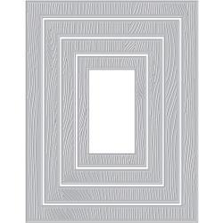589598 Hero Arts Infinity Dies Wood Frame