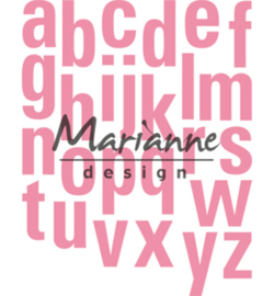 COL1449 Marianne Design Collectables Alfabet XXL