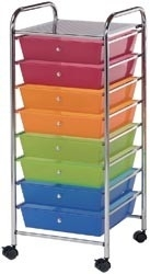 121460 Storage Cart Multi-Color