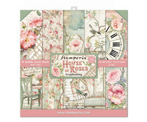 SBBL66 Stamperia House of Roses 12x12 Inch Paper Pack