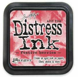 TIM32861 Tim Holtz Distress Ink Pad Festive Berries