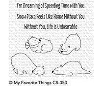 CS-353 My Favorite Things Unbearably Cute Clear Stamps