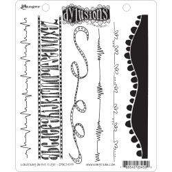 222431 Dyan Reaveley's Dylusions Cling Stamp Bordering On The Edge