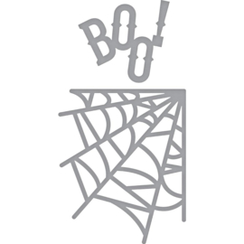 S2263 Spellbinders Shapeabilities Die D-Lites Boo Web