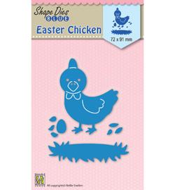 SDB030  Nellie's Choice Shape Dies Easter Chicken