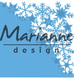 LR0497 Marianne Design Creatables Snowflakes corner