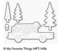 MFT-1406 My Favorite Things Cool Christmas Die-Namics