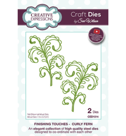 CED1514 The Finishing Touches Collection Curly Fern