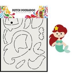 470.713.810 Dutch DooBaDoo Card Art Built up Zeemeermin