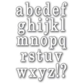 MB94582 Memory Box Dies Bennet Alphabet