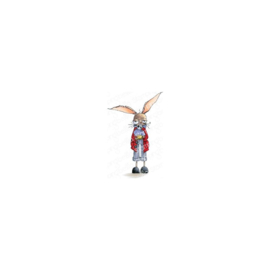 600722 Stamping Bella Cling Stamps Oddball March Hare