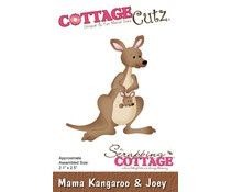CC-459 Scrapping Cottage Mama Kangaroo & Joey