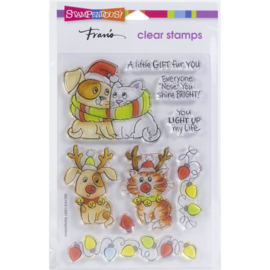 SSC1410 Stampendous Perfectly Clear Stamps Bright Nose Frame