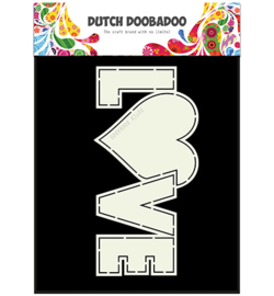 470.713.659 Dutch DooBaDoo Card Art Love
