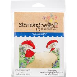 456581 Stamping Bella Cling Stamps Gnome Backdrop