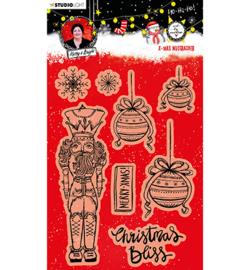 ABM-ES-STAMP81 ABM Clear Stamp Christmas nutcracker Essentials nr.81