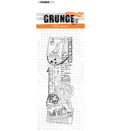 SL-GR-STAMP36 StudioLight Clear Stamp Love mail Grunge Collection nr.36