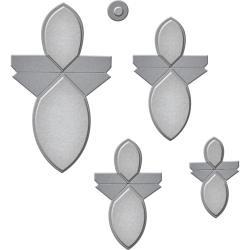 S3251 Spellbinders Shapeabilities Dies Round Flower Fold 'n Go