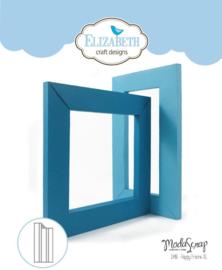 EC1498 Elizabeth Craft Metal Die Happy Frame XL