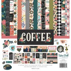 "423095 Echo Park Collection Kit Coffee 12""X12"""