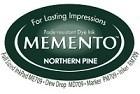 222126 Memento Full Size Dye Inkpad Northern Pine