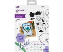 GEM-STD-INBL Gemini In Bloom Stamp & Die