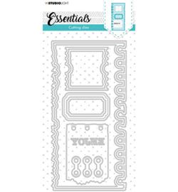 SL-ES-CD81 StudioLight Cutting Die Slimline page ticket Essentials nr.81