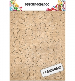 472.309.008 -  Dutch Cardboard Art Gingerbread